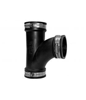 Eazy Connector Tee (Flexible Rubber Boot)