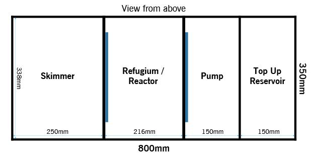 eaReefPro600Cube Sump
