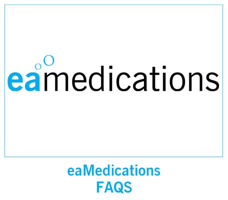 eaMedications FAQS