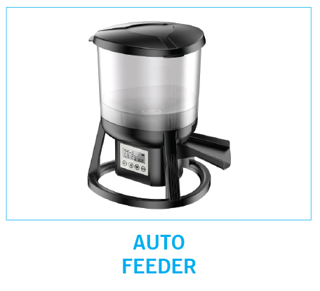 Pond automatic feeders