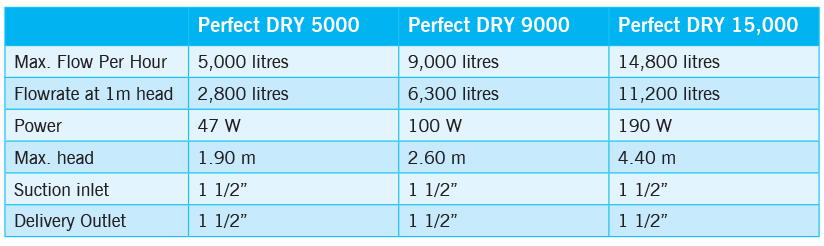 Perfect Dry Pumps