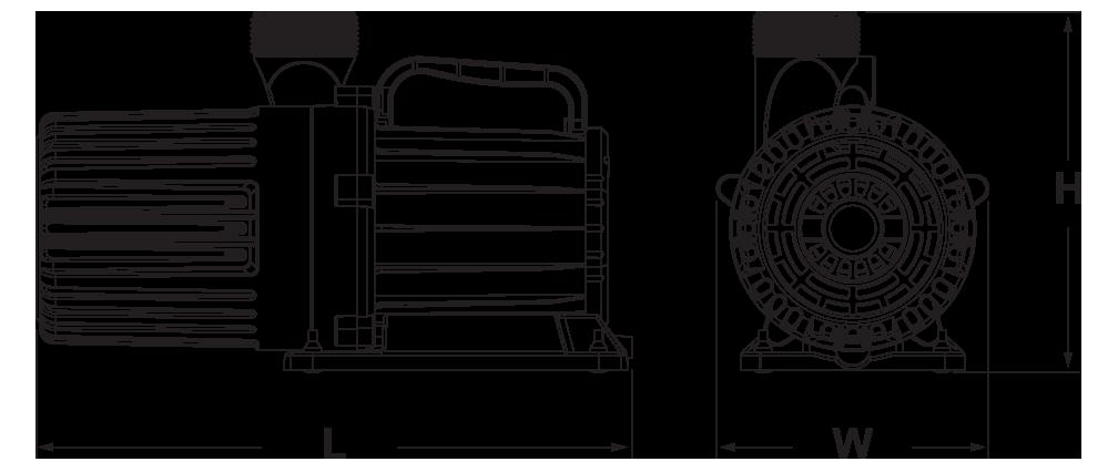 variPump Dimensions