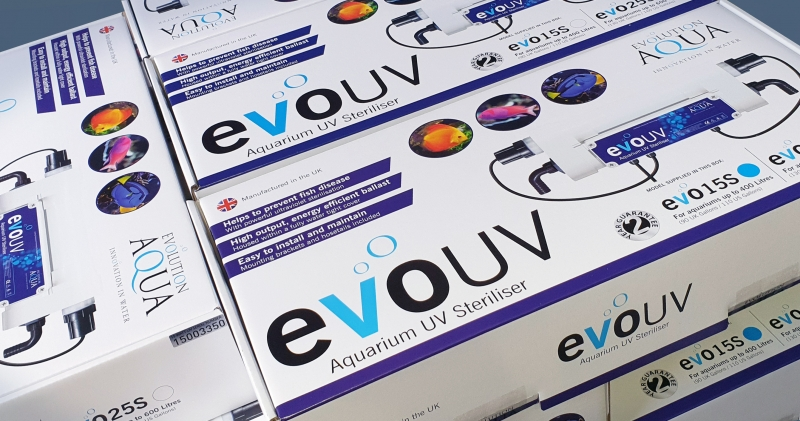 Evolution Aqua launch new aquarium UV sterilisers