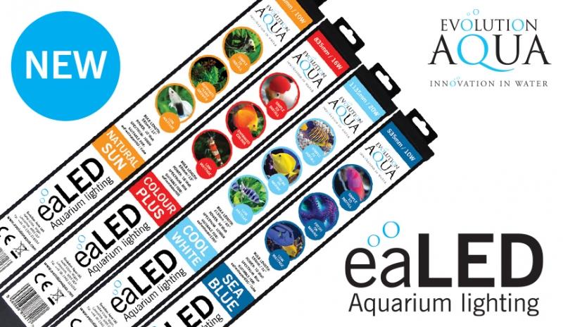 eaLED aquarium lighting by Evolution Aqua