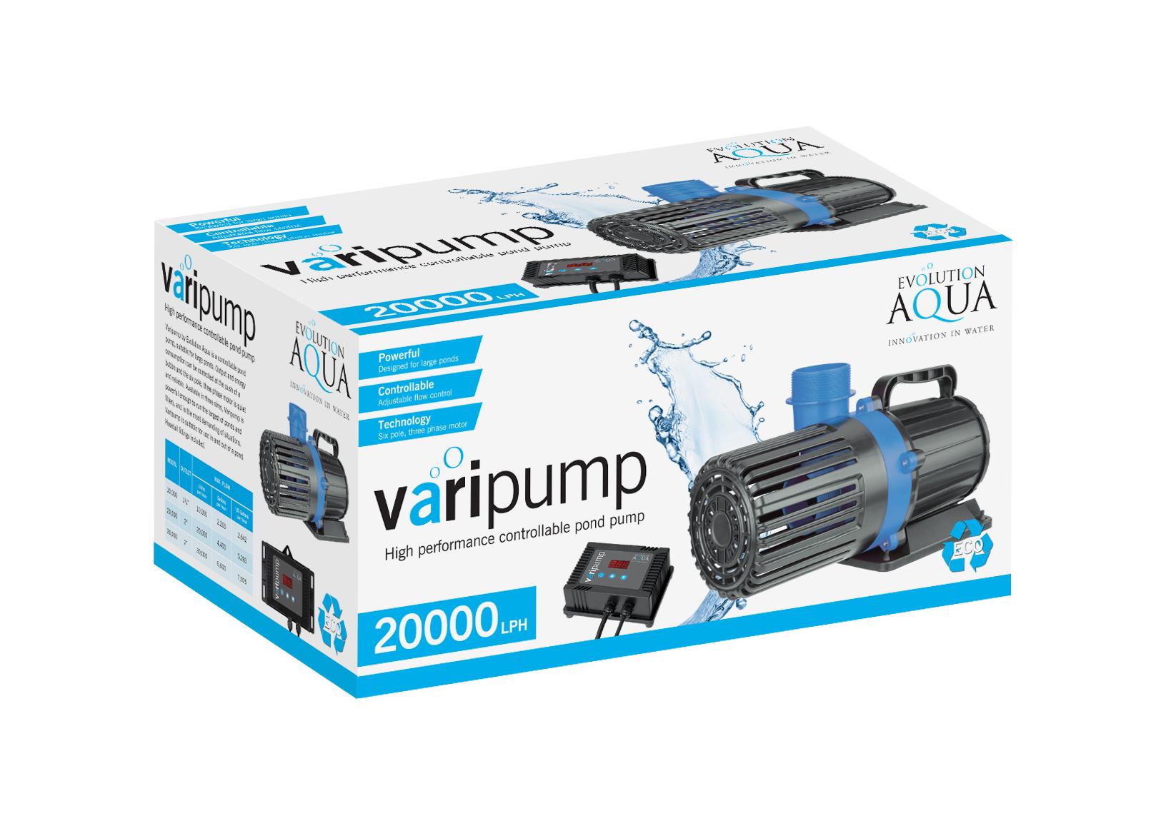 Evolution Aqua launch new controllable pond pumps